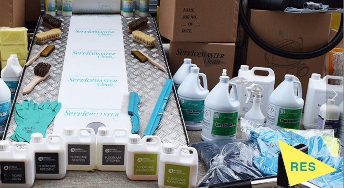 servicemaster residential cleaning kit