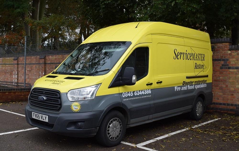 servicemaster restore van