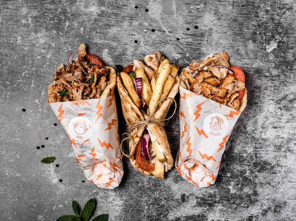 street greek food