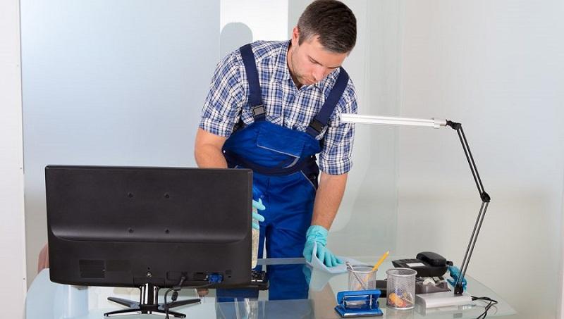techclean franchisee cleaning desktop