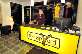 The Zipyard franchise business opportunity for sale tailoring clothing alterations repairs