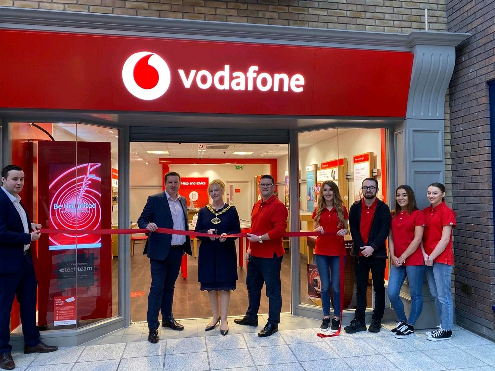 Vodafone franchise store opening