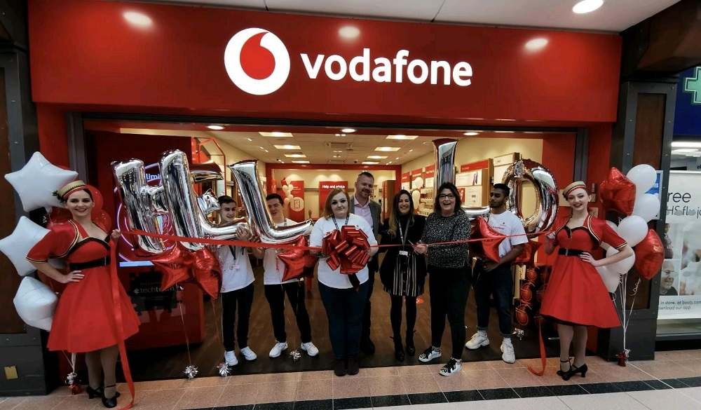New Vodafone franchise store opening