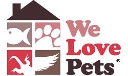 We Love Pets franchise Logo