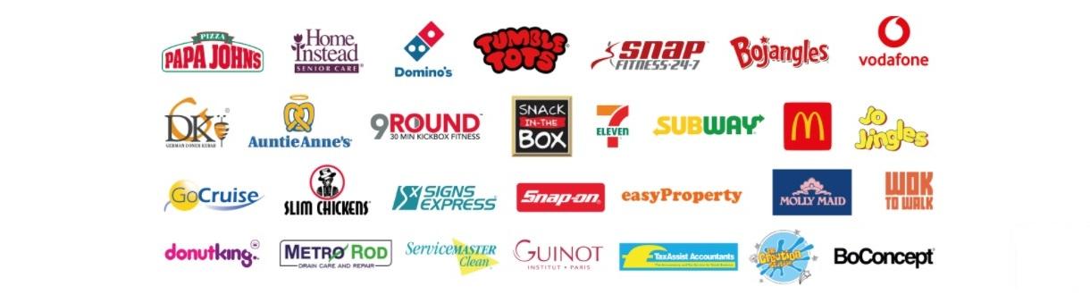 popular franchise logos