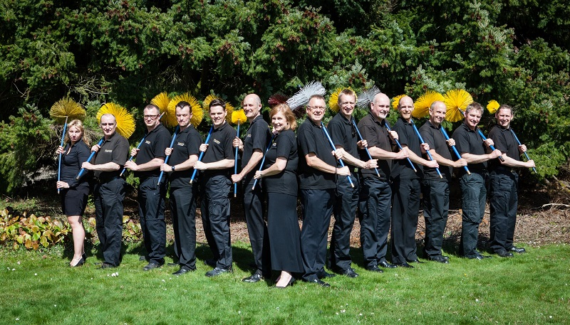 Wilkins chimney sweep team of franchisees