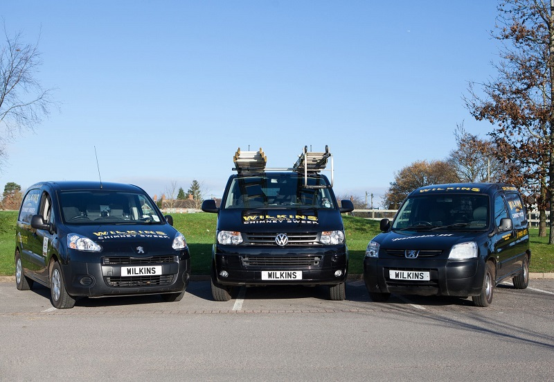 Wilkins chimney sweep franchise vans