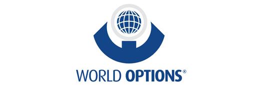 world options franchise business banner export