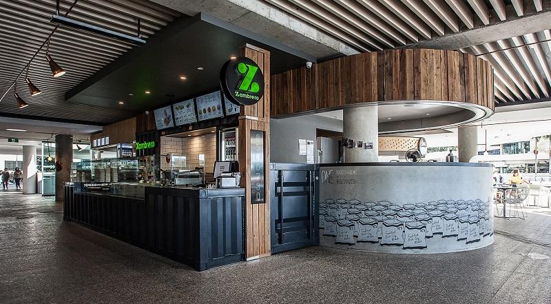 External shot of zambrero restaurant