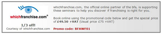 Franchise Seminar Event education