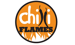 Chilli Flames franchise uk Logo