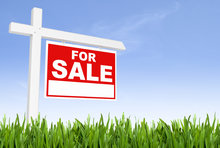 a for sale sign